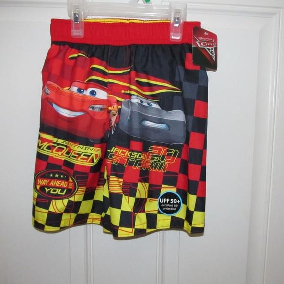 42288fc939 Disney Cars Lightning McQueen 5T Swim Trunks New. M_5c97c9aa8ad2f9189450b1c1